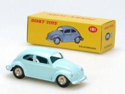 Dinky Toys 181 VW Volkswagen Käfer Beetle türkis Atlas MIB! OVP