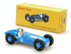 Dinky Toys 23 H Atlas Auto de Course Talbot-Lago Rennwagen  OVP