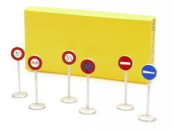 Dinky 40 Panneaux de Signalisation Ville Verkehrszeichen  OVP