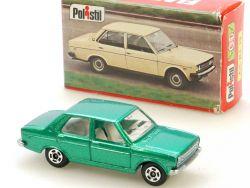 Polistil RJ 13 Fiat 131 grün Club 33 Modellauto Italien 1977 OVP