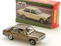 Polistil RJ13 Fiat 131 braun Club 33 Modellauto Italien 1977 OVP