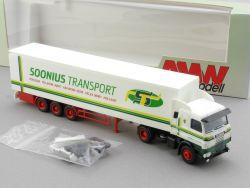 AMW AWM 6008.7 Scania 143 Kühlkoffer-SZ Soonius Transport NL OVP