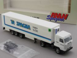 AMW AWM 70102 Scania 113 Kühlkoffer-SZ Tir Spagna Cesena ITA OVP