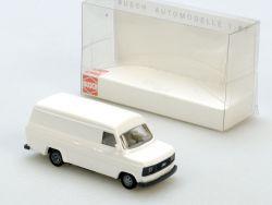 Busch 42400 Ford Transit Lieferwagen weiß Modellauto 1:87 NEU ST