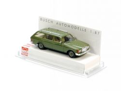 Busch 46800 Mercedes-Benz W 123 T-Modell Kombi grün 1:87 NEU