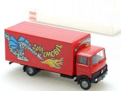 Busch 40747 Mercedes LP 809 LKW Spielmobil Kirmes Circus NEU OVP