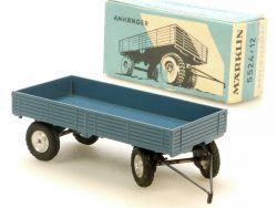 Märklin 5524/12 LKW-Anhänger alt 8000er 8037 Spur 0 rare Box OVP
