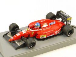 Onyx Ferrari F 92 A Ivan Capelli Fahrer Rennwagen #28 1/43 OVP