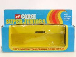 Corgi E2012 Junior Nur OVP für Military Transporter Husky Gift Set
