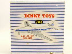 Dinky 702 NUR Originalverpackung für D.H.Comet Airliner Boac OVP/Box