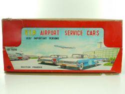 KYOEI 1050 Japan Tin Blech Airport Cars Lufthansa KLM