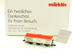 Märklin Mini-Club Spielwarenmesse 03 Insider Wagen OVP