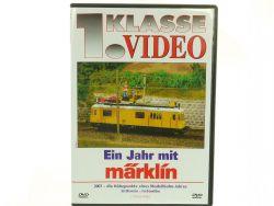 AW Märklin 9523 DVD 1. Klasse Videos Ein Jahr mit Märklin 2007 OVP