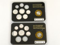 Münzkontor 3x Sondermünze, Medaille, Tableaus, case für Euro KMS AW