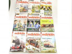 Märklin Magazin Konvolut 9x aus 2012 2013 2014 Zeitschriften 800 AW