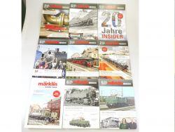 Märklin Insider News 9x Heft aus 2012 2013 2014 Zeitschrift 800 AW