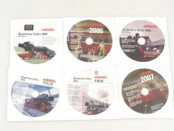 Märklin Neuheiten-Video 5x 2006 2007 2008 2009 2010 2011 DVD AW