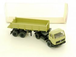Wiking 677/10a Mercedes-Benz MB 1617 S Hinterkipper-SZ LKW OVP NEU!