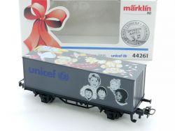 Märklin 44261 Containerwagen Geburtstagswagen 1996 Unicef OVP