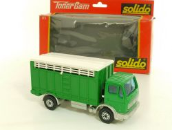 Solido 373 Mercedes MB 1217 KK'/32 Camion Betailliere Toner Gam OVP
