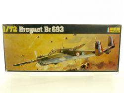 Heller 392 Breguet BR 693 Kampfflugzeug France plastic Bausatz OVP