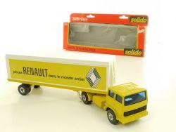 Solido 370 Toner Gam Saviem Semi-Remorque H 875 Renault 1/60 OVP