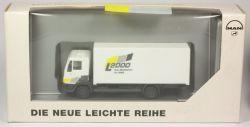 Herpa 09.38069-0065 MAN L2000 Koffer-LKW Werbemodell 1/87 SG OVP