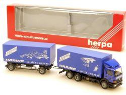 Herpa 145862 MB Mercedes Atego 2528 Häring Hängerzug HZ LKW OVP