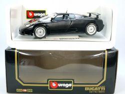 Bburago 3055 Bugatti EB 110 schwarz MIB NEU 1/18 OVP ST