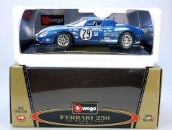 Bburago Burago 3333 Ferrari 250 Le Mans 1/18 MIB Neu OVP SG