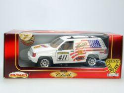 Majorette 4424 Jeep Grand Cherokee Rallye Racing MIB Neu NOS OVP SG