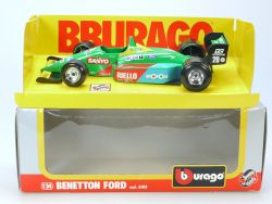 Bburago Burago 6102 Benetton Ford Formel 1 1/24 MIB Neu NOS OVP SG