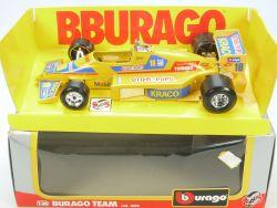Burago Bburago 6109 Molgora Team Formel 1 Otter Pops Kraco 1/24 OVP