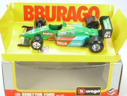 Burago Bburago 6102 Benetton Ford Molgora Formel 1 Sanyo 1/24 OVP