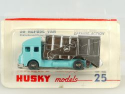 Husky 25 Corgi Juniors SD Refuse Van Truck MIB MIB MOC NEU OVP