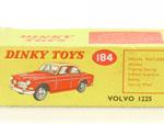 Dinky 184 nur OVP Karton Box Leekarton Volvo 122S 60er alt