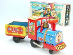 T.T 1660 TT Japan Blech Child Train CT Bobbing Smoke Stack NOS OVP