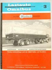 Lastauto Omnibus Nr. 3 / 1961 Zeitschrift Test VW T1 Transporter