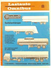 Lastauto Omnibus Nr. 8 / 1961 orig. Zeitschrift Mercedes Opel MAN