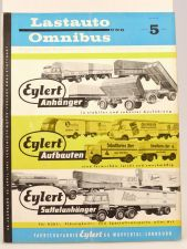 Lastauto Omnibus Nr. 5 / 1962 orig. Zeitschrift Mercedes MAN Opel