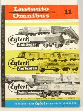 Lastauto Omnibus Nr. 11 / 1962 orig. Zeitschrift Mercedes VW Deutz