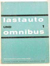 Lastauto Omnibus Nr. 1 / 1963 orig. Zeitschrift Ford 17 m Turnier