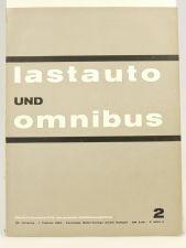 Lastauto Omnibus Nr. 2 / 1963 original Zeitschrift Mercedes Büssing
