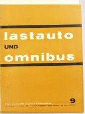 Lastauto Omnibus Nr. 9 / 1963 orig. Zeitschrift Krupp Ford Mercedes