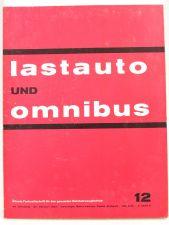 Lastauto Omnibus Nr. 12 / 1963 orig. Zeitschrift MAN Büssing Volvo