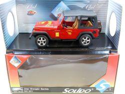 Solido 9011 Club Jeep Wrangler Bachee Camel Mint MIB NOS 1/18 OVP