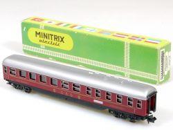 Trix Minitrix 3012 Speisewagen DSG WR4ümg DB Rarität 1965! OVP