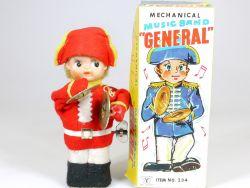 Cragstan 234 Mechanical General Music Band Beckenspieler Japan OVP