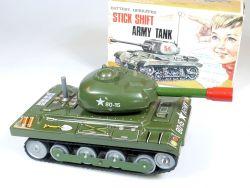 Nomura Toys T.N Stick Shift Army Tank Panzer Japan Blech selten OVP