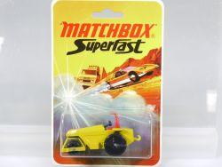 Matchbox 21 E Superfast Rod Roller Walze Diecast Lesney MOC MIB OVP